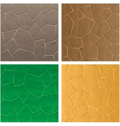 Stone textures vector image