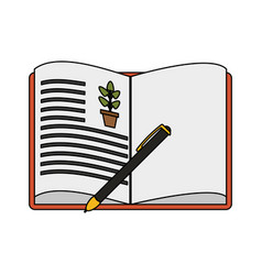 book icon image vector image vector image