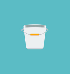 flat icon pail element of vector image vector image