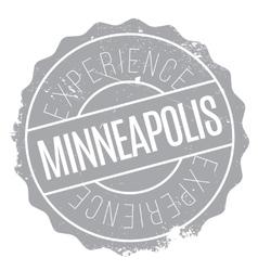 Minneapolis stamp rubber grunge vector