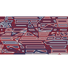 Star lines red and blue background abstract vector