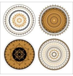 Mandala set vector