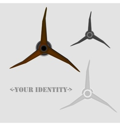 Spin logo vector