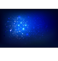 Abstract background connection internet social dot vector
