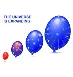 Expanding universe vector