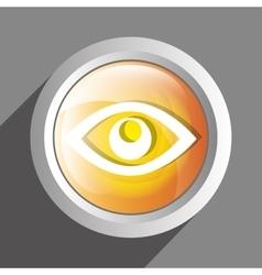 Eye icon symbol design vector image vector image