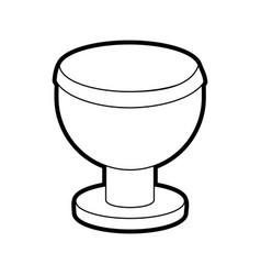 Goblet vector