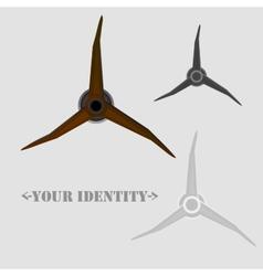 Spin Logo vector image