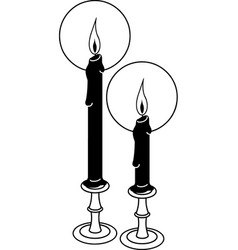 Tg00068 candles vector