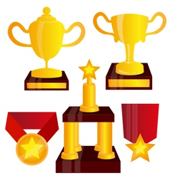 Sports awards vector