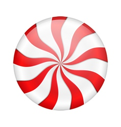 Peppermint candy vector