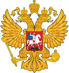 Russian coat-of-arms vector