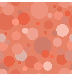 Circles in red vector