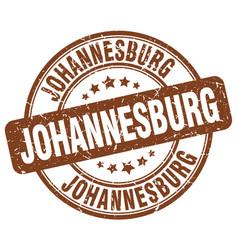 Johannesburg stamp vector