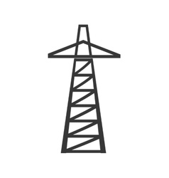 Tower icon oil industry concept graphic vector