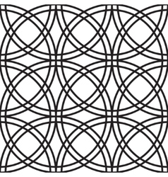 Celtic knots pattern vector