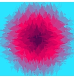 Abstract gradation design shapes background vector