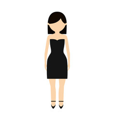Avatar woman female design vector