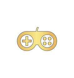 Joystick computer symbol vector