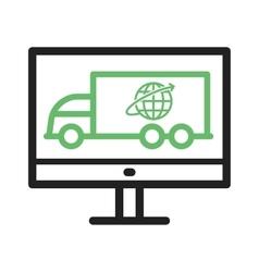 Online logistics vector