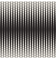 Seamless halftone rectangles pattern vector