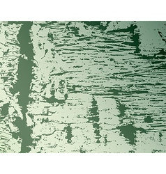 Texture and pattern of wood on green vector image vector image