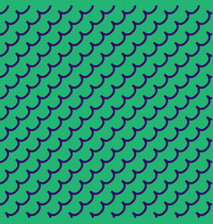 Wave geometric seamless pattern 1501 vector