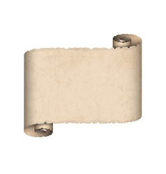 Old scroll paper vector