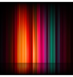 Aurora borealis colorful abstract eps 8 vector