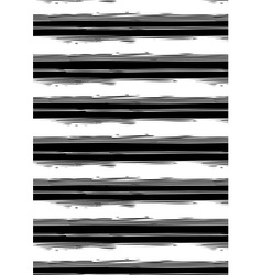 Distressed black and white stripe repeat pattern vector