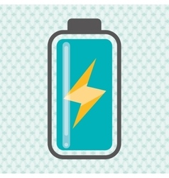Battery icon design vector