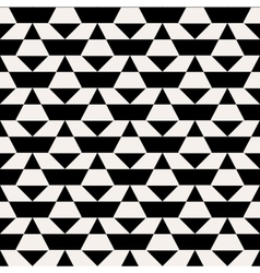 Black and white op art pattern vector image