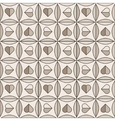Brown ceramic tile vector image vector image