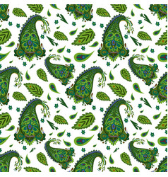 Decorative indian seamless pattern vector