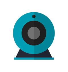 Web cam device icon vector