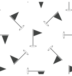 Flagstick pattern vector