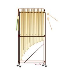 A Musical Tubular Bells vector image vector image