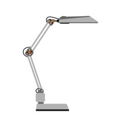 Cartoon lamp vector