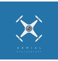 drone icon vector image