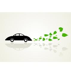 Go green car vector