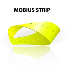 Mobius strip vector image vector image