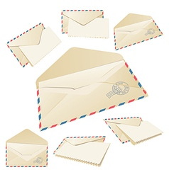 Old Mail vector image vector image