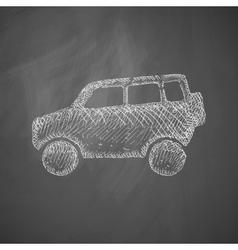 Car suv icon vector