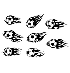 Football and soccer tattoos vector