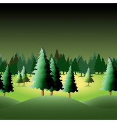 Seamless forest vector