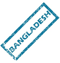 Bangladesh rubber stamp vector