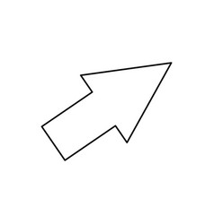 Arrow cursor direction pointer click vector