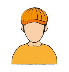 Golf player avatar icon image vector