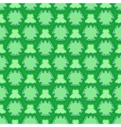 green cell seamless pattern vector image vector image