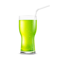 Green glass vector